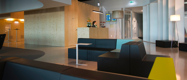 ANA Lounge entrance